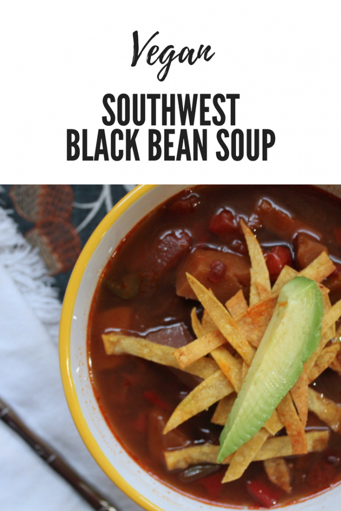 [Slow Cooker] Southwest Black Bean Soup