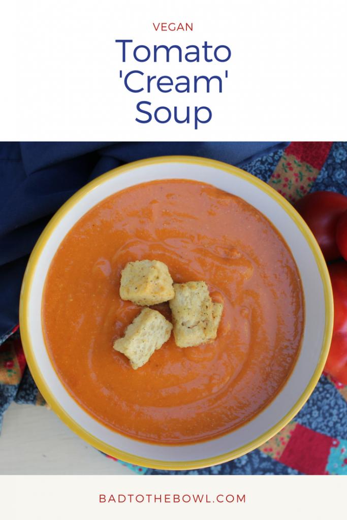 Vegan Tomato 'Cream' Soup