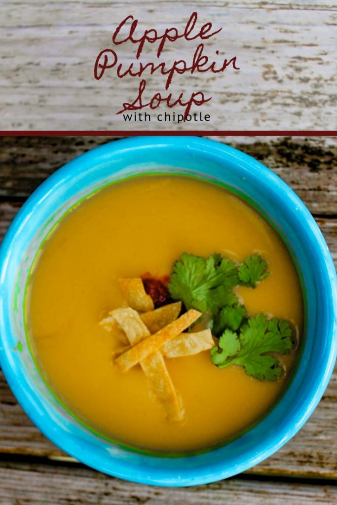Apple Pumpkin Soup with Chipotle | Awesome Vegan Soups Book Review