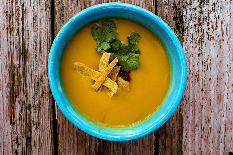 apple pumpkin chipotle fall soup-2