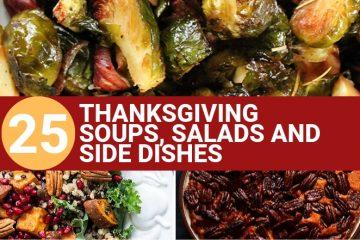 Vegan THANKSGIVING SIDES SOUPS AND SALADS