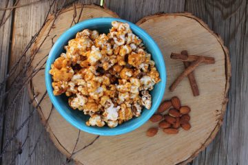 Cinnamon Almond Maca Popcorn