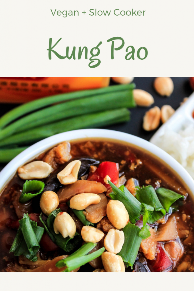 Kung Pao from the Vegan Slow Cooker Cookbook