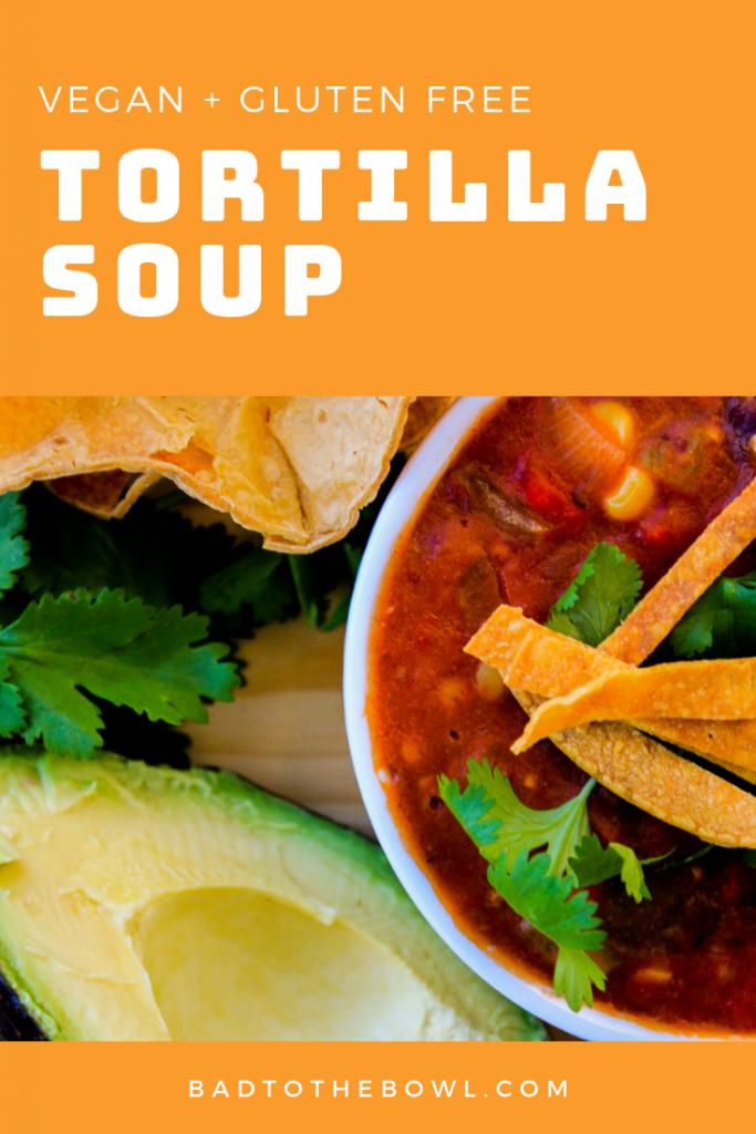 Tortilla Soup (V, GF, DF)