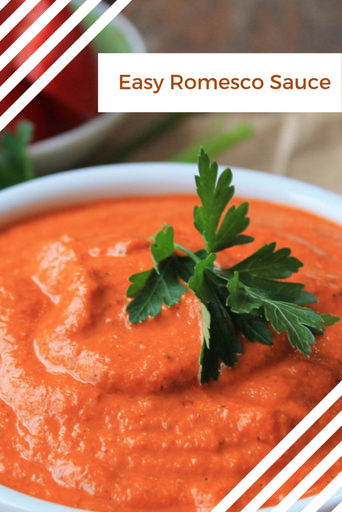 Easy Vegan Romesco Sauce