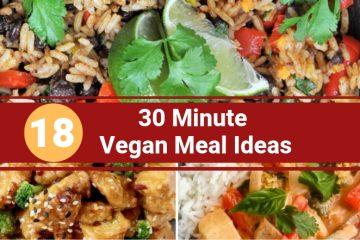 30 minute vegan meal ideas