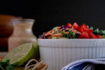 kale salad with almond butter lime dressing-6