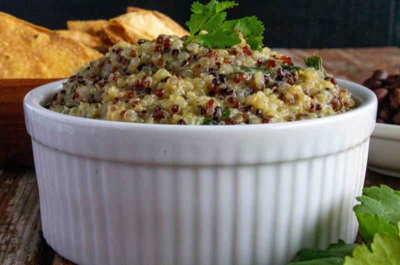 Salsa Verde Quinoa + 5 – Ingredient Vegan Cookbook Review